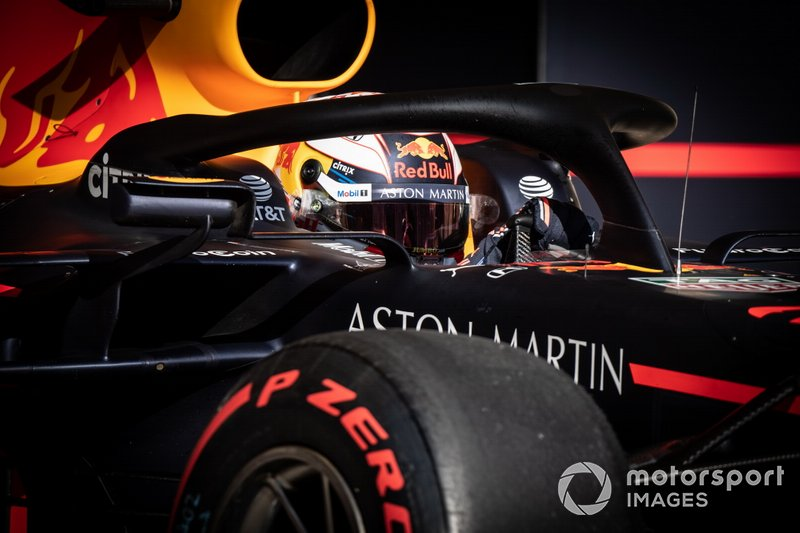 3: Max Verstappen, Red Bull Racing RB15, 1'32.096