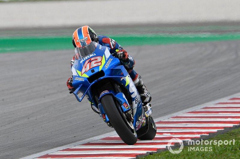7º Alex Rins, Team Suzuki MotoGP