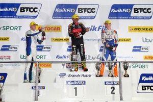Ashley Sutton, Team BMR Subaru Levorg, Jason Plato, Power Maxed Racing Vauxhall and Rory Butcher, AmD Tuning Honda Civic