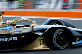 Antonio Felix da Costa, DS Techeetah, DS E-Tense FE20 esce dal garage