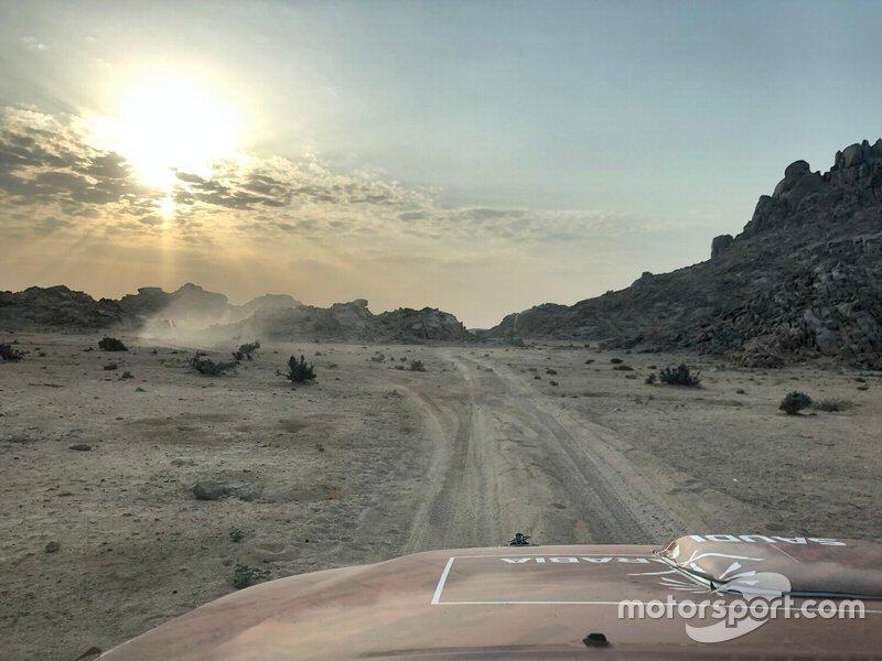 Etapa 4 (8 de janeiro): de Neom a Al Ula (676 km, sendo 453 cronometrados)