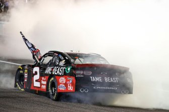 Campeón Tyler Reddick, Richard Childress Racing, Chevrolet Camaro TAME the BEAST