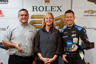 David Pettit, Amy Jo Osborne, Ryan Briscoe, Austin Hatcher Foundation awards