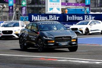 The Jaguar I-Pace eTrophy Safety Car