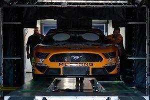 Technische Inspektion: Corey LaJoie, Go FAS Racing, Ford Mustang Schlüter Systems