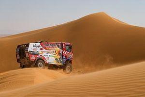 #524 Firemen Dakar Team Renault: Ричард де Грот, Раф Ван Ден Элсхаут и Ян Хюлсебос
