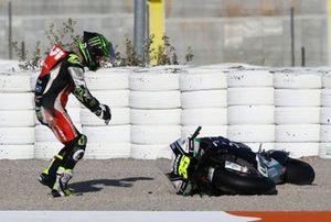 Cal Crutchlow, Team LCR Honda dopo l'incidente