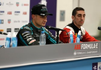 Mitch Evans, Jaguar Racing in the press conference
