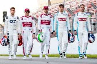 Formula 1 2020 season drivers