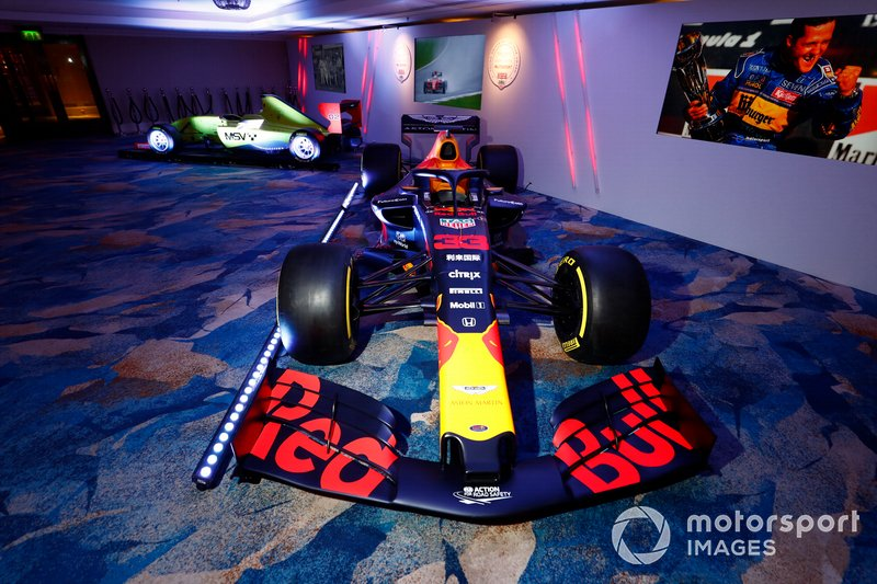 El Red Bull Racing RB15 de Max Verstappen