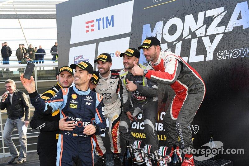 Podio del Monza Rally Show