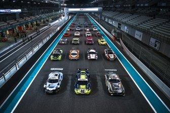 Gruppenfoto: Autos für die 12h Abu Dhabi 2019
