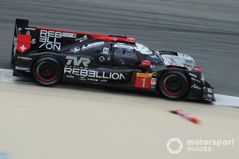 #1 Rebellion Racing Rebellion R-13 - Gibson: Bruno Senna, Gustavo Menezes, Norman Nato