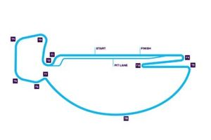 Santiago ePrix track layout