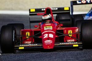 Gerhard Berger, Ferrari, al GP del Portogallo del 1989