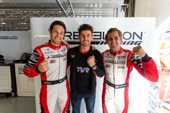 Les polemen : #1 Rebellion Racing Rebellion R13 - Gibson: Bruno Senna, Gustavo Menezes, Norman Nato
