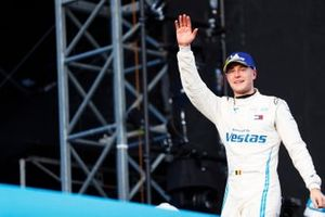 Stoffel Vandoorne, Mercedes Benz EQ, EQ Silver Arrow 01, celebrates on the podium