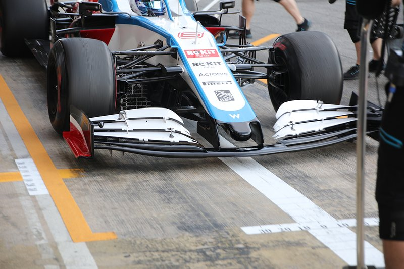 Alerón delantero del Williams FW43