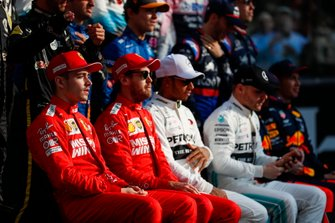 The 2019 F1 drivers photo