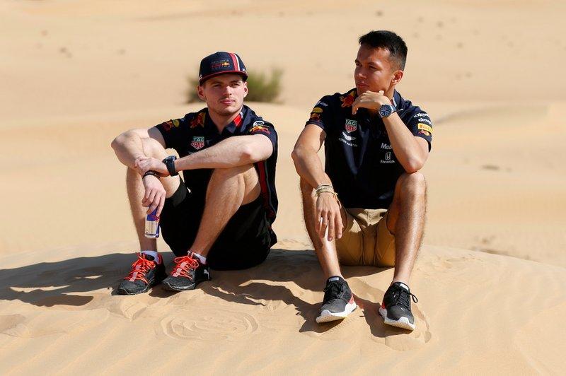 Макс Ферстаппен и Александр Элбон, Red Bull Racing