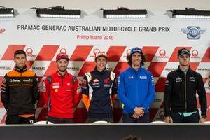 Jorge Navarro, Andrea Dovizioso, Ducati Team, Marc Marquez, Repsol Honda Team, Alex Rins, Team Suzuki MotoGP, Marcos Ramirez