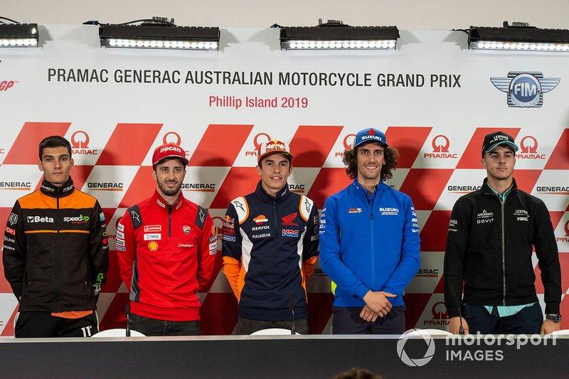 Jorge Navarro, Andrea Dovizioso, Ducati Team, Marc Marquez, Repsol Honda Team, Alex Rins, Team Suzuki MotoGP, Gabriel Rodrigo