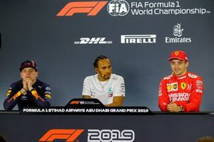 Press Conference: Max Verstappen, Red Bull Racing, Lewis Hamilton, Mercedes AMG F1, Charles Leclerc, Ferrari