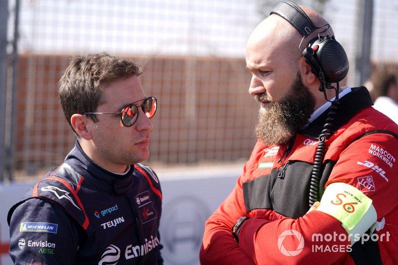 Robin Frijns, Virgin Racing, sur la grille