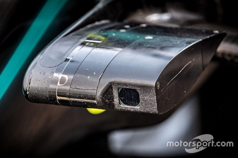 Mercedes AMG F1 W10 front wing camera