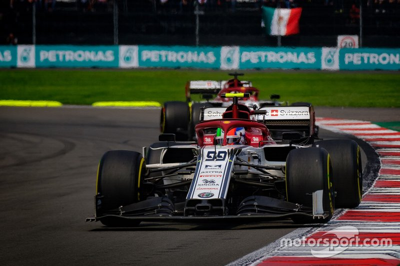Antonio Giovinazzi, Alfa Romeo Racing C38,Kimi Raikkonen, Alfa Romeo Racing C38