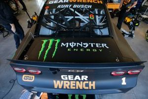 Kurt Busch, Chip Ganassi Racing, Chevrolet Camaro GEARWRENCH quarter panels and deck lid