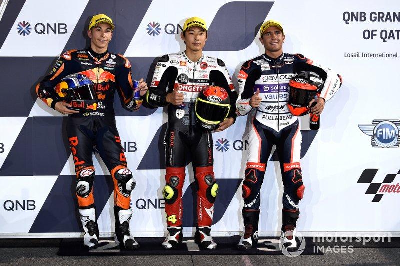Raúl Fernández, Red Bull KTM Ajo, Tetsuki Suzuki, Albert Arenas, Aspar Team