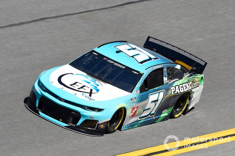 37. Joey Gase, Petty Ware Racing, Chevrolet Camaro EFX Corp