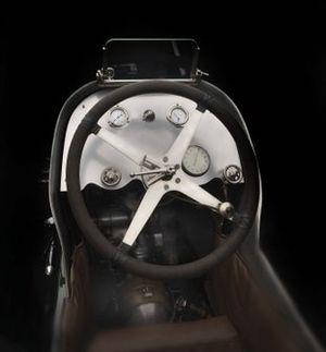 Cockpit de la Miller Jr 8 Special 1923