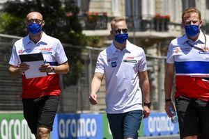 Никита Мазепин, Haas F1, прогулка по трассе