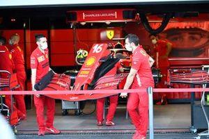 Ferrari SF21, nose cone