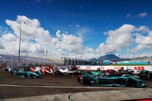 Sam Bird, Jaguar Racing, Jaguar I-TYPE 5, Norman Nato, Venturi Racing, Silver Arrow 02, Mitch Evans, Jaguar Racing, Jaguar I-TYPE 5, Alexander Sims, Mahindra Racing, M7Electro