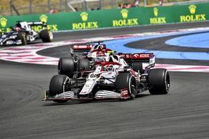 Antonio Giovinazzi, Alfa Romeo Racing C41, Kimi Raikkonen, Alfa Romeo Racing C41