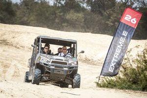 Jamie Chadwick, Veloce Racing, and Stephane Sarrazin, Veloce Racing