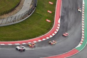 Ryan Newman, Roush Fenway Racing, Ford Mustang Guaranteed Rate and Martin Truex Jr., Joe Gibbs Racing, Toyota Camry Bass Pro