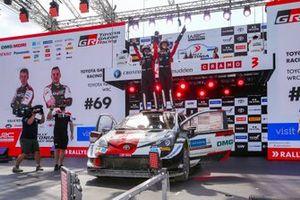 Winner Kalle Rovanperä, Jonne Halttunen, Toyota Gazoo Racing WRT Toyota Yaris WRC