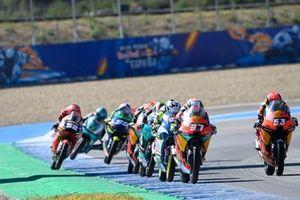 Moto3-Action in Jerez 2021
