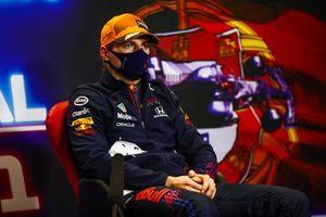 Макс Ферстаппен, Red Bull Racing, на пресс-конференции после квалификации