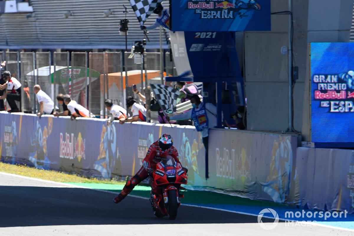 Jack Miller, Ducati Team taglia per il primo il traguardo e vince il GP di Spagna