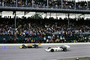 Mark Donohue, Penske Racing, Eagle 72 Offenhauser, Bobby Unser, All American Racers/Oscar Olson, Eagle 73 Offenhauser