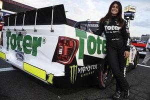 Hailie Deegan, Team DGR, Ford F-150 Toter / Engine Ice