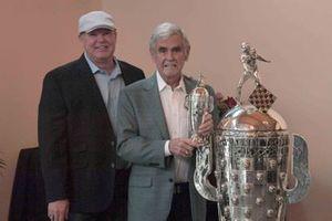 Al Unser Jr, Al Unser, Baby BorgWarner trophy