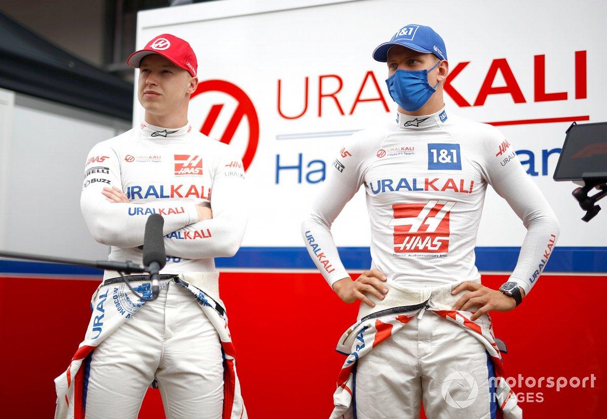 Nikita Mazepin, Haas F1, Mick Schumacher, Haas F1