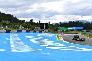 Esteban Ocon, Alpine A521, Sergio Perez, Red Bull Racing RB16B, and Lewis Hamilton, Mercedes W12
