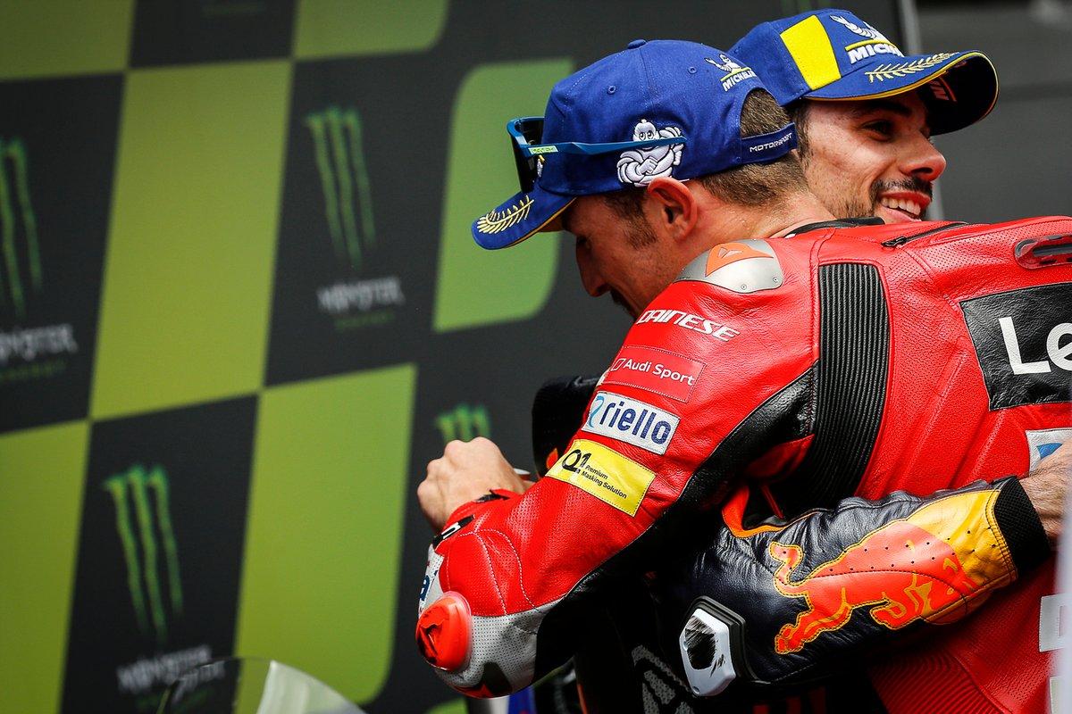 Miguel Oliveira, Red Bull KTM Factory Racing, Jack Miller, Ducati Team